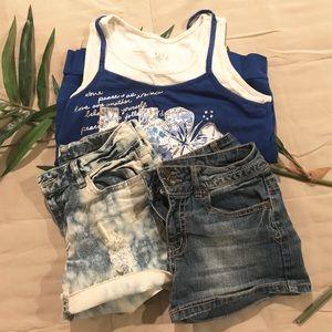 Bundle Size 12 Girls Summer Clothes
